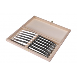 Set of 6 Laguiole Avantage stainless steel knives