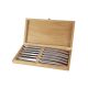 Set of 6 Le Thiers Prestige brilliant stainless steel knives