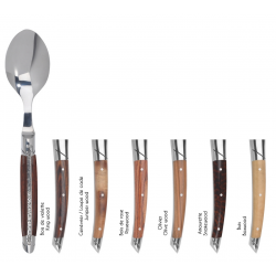 Set of 6 table spoons Le Thiers Prestige - Mixed woods group 1